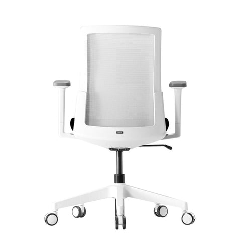 A-Two Mesh Task Chair - White office chair