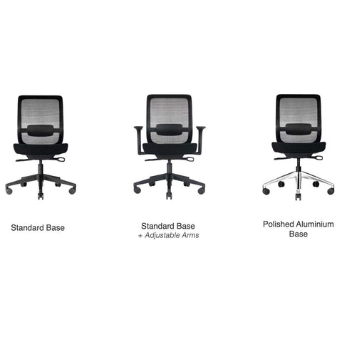 A-PLUS TASK CHAIR OPTIONS