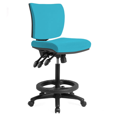 APOLLO DRAFTING CHAIR BLUE