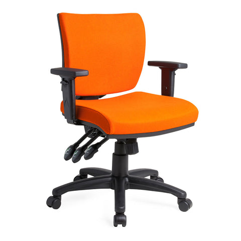Apollo Mid-Back Task Chair three lever with arms