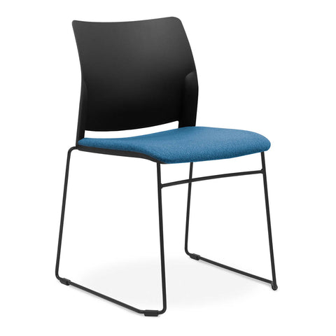 CS O2 Visitor Chair blue visitors chair