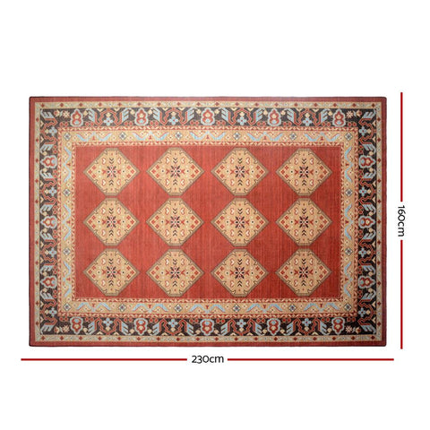 Products Artiss Floor Rugs Carpet 160 x 230 Living Room Mat Rugs Bedroom Large Soft Red