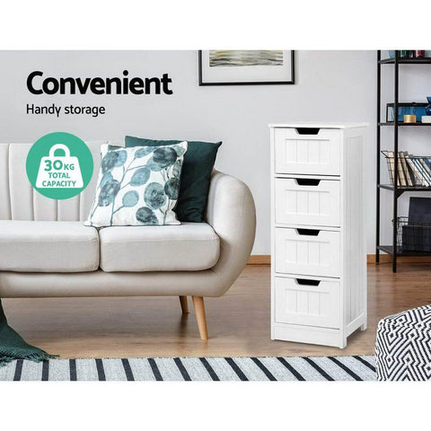 Storage Cabinet Chest of Drawers - White office cabinet