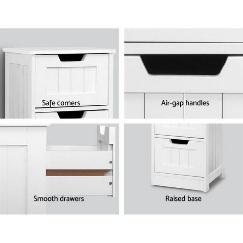 Storage Cabinet Chest of Drawers - White office storage cabinet
