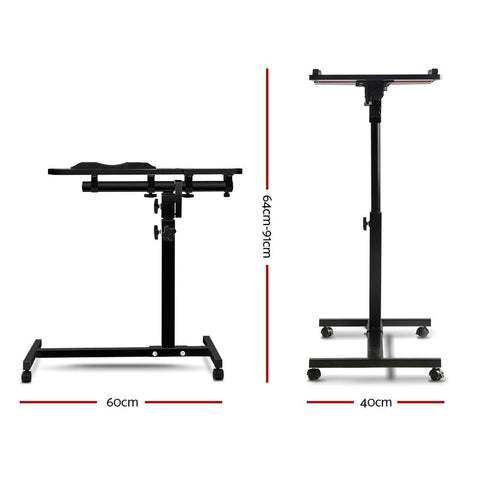 Adjustable Computer Stand dimensions