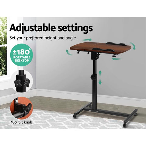 Adjustable Rotating Mobile Laptop Adjustable Desk adjustable settings