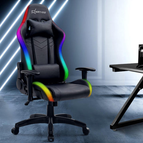 Artiss Gaming Chair Led lights