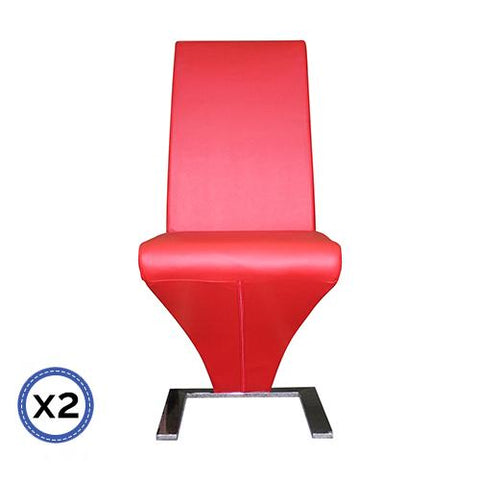 Z Chair Dining Chair - Red