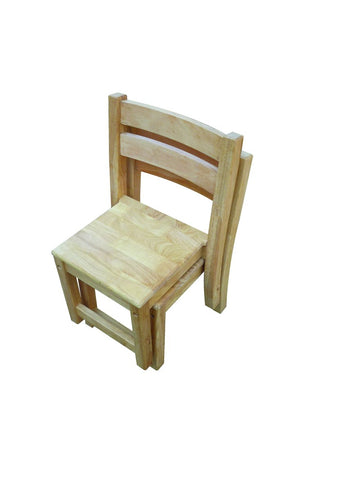 Kids Stacking Chairs - Rubberwood