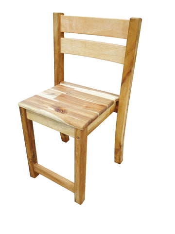 Kids Stacking Chair 40cm High - Acacia Hardwood study chair