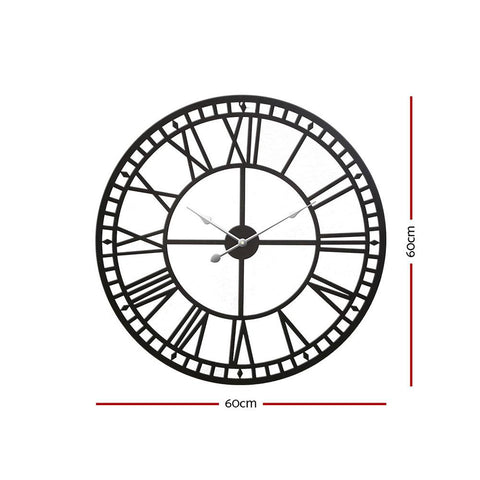 Extra Large Modern Wall Clock - 60cm Silent