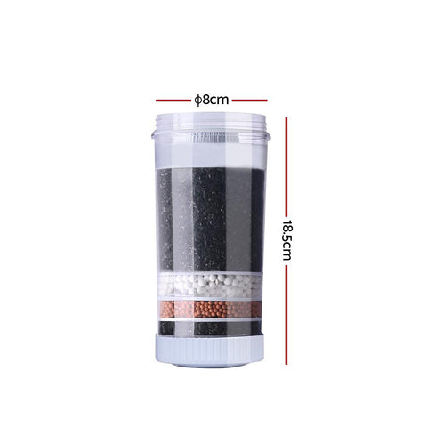 Devanti Water Cooler Dispenser 6-Stage Filtration Carbon Mineral Cartridge - Pack of 3 dimensions