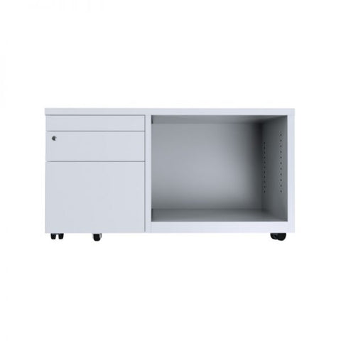 ausfile-caddy-3-drawer-tambour-with-1-shelf-lhs-cad-lhs White Caddy Drawer