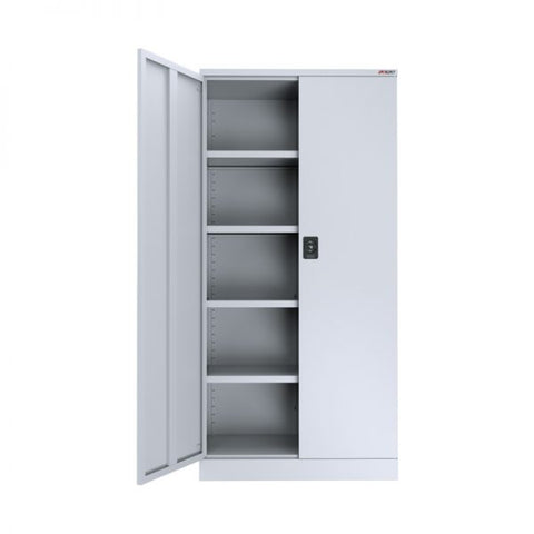ausfile-stationery-cupboard-1930-high-4-shelves-cup-1930 White 4 Shelves Stationery Cabinet