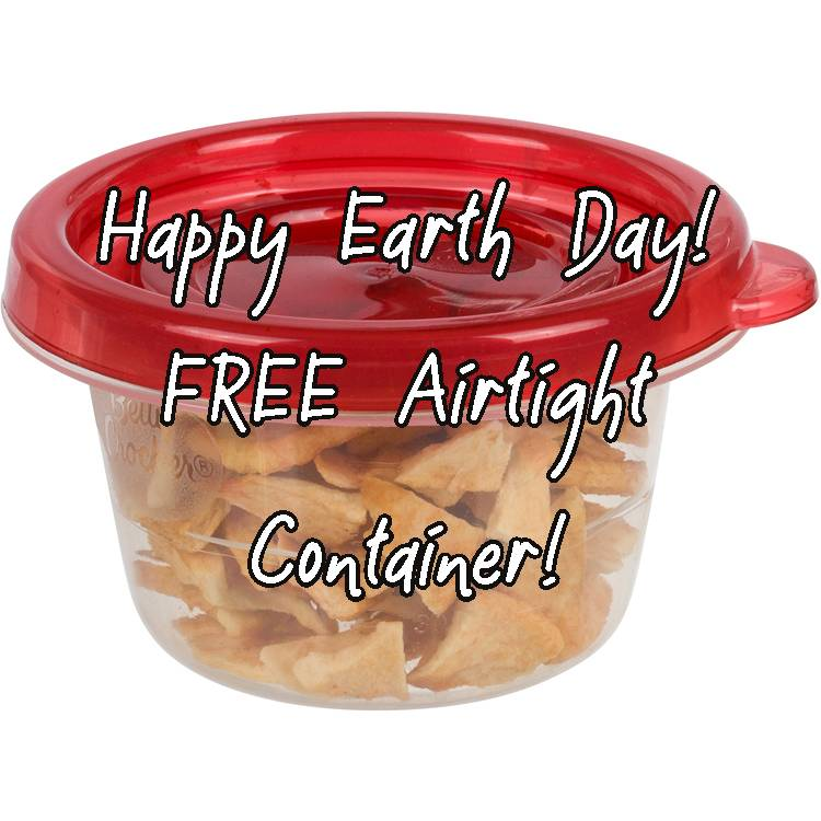 Happy Earth Day Weekend! FREE Container with every order