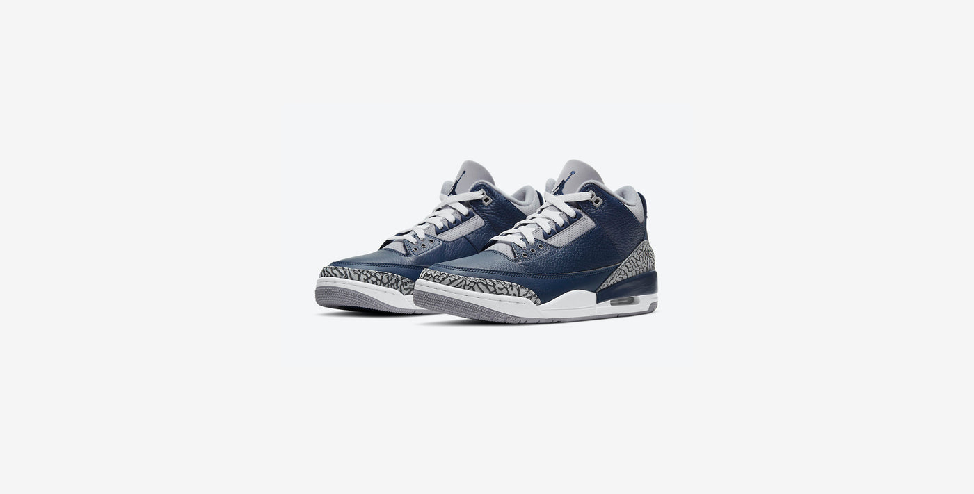 "Air Jordan 3 Retro ""Midnight Navy"" Drops 3.20"