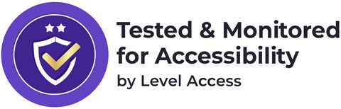 Tested and Monitored for Accessibility by Level Access