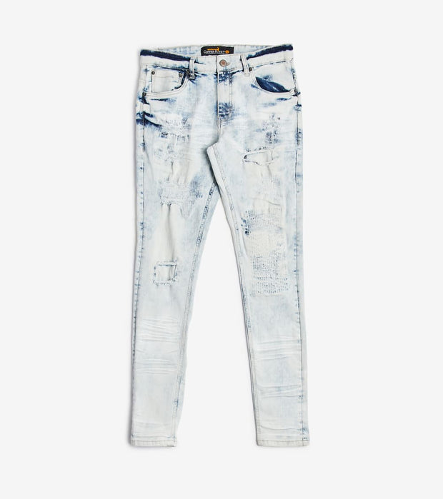 Decibel  Vintage Wash Jeans  Blue - 013031L34-LSB | Jimmy Jazz