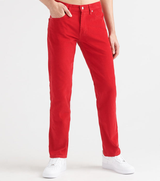 Levis  511 Slim Fit Corduroy - L34  Red - 04511L34-3957 | Jimmy Jazz