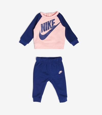 Nike  Girls NSW Heathered Crew Pants Set  Blue - 06F568-U9J | Jimmy Jazz