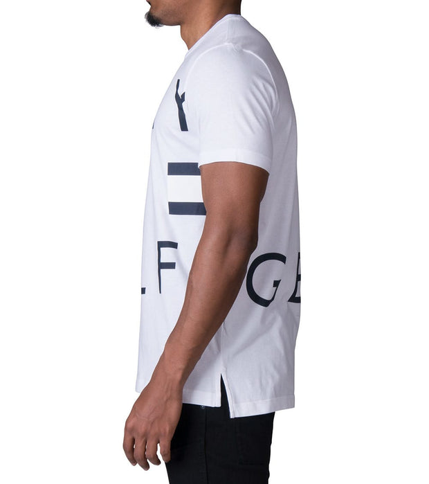Tommy  Logo Graphic Tee  White - 09T3334-100 | Jimmy Jazz