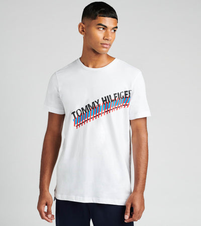 Tommy  Modern Essentials Tee  White - 09T3549-100 | Jimmy Jazz