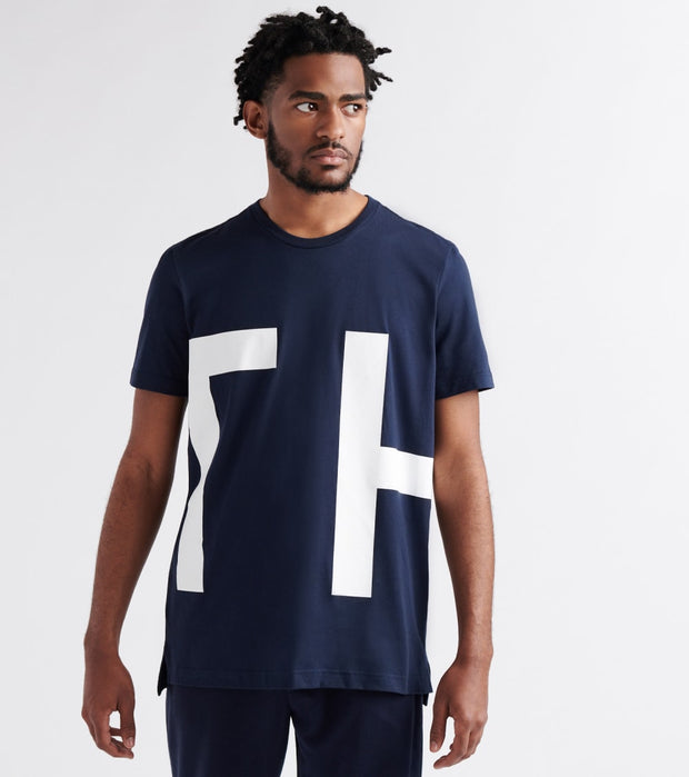 Tommy  Logo Tee  Navy - 09T3551-410 | Jimmy Jazz