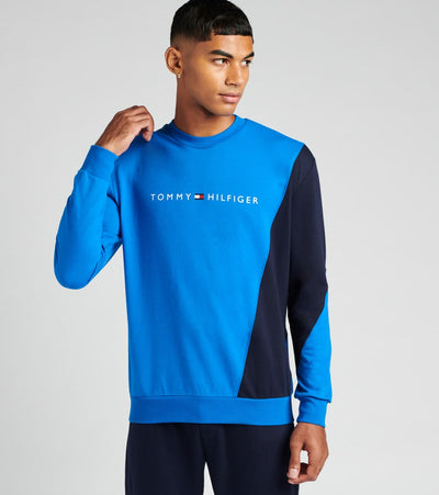 Tommy  Modern Essentials Long Sleeve Sweatshirt  Blue - 09T3556-964 | Jimmy Jazz