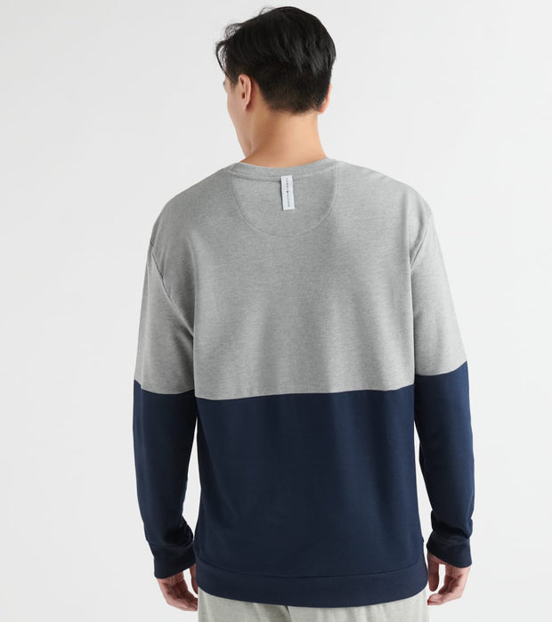Tommy  Hilfiger Color Block Crew Neck  Grey - 09T3605-004 | Jimmy Jazz