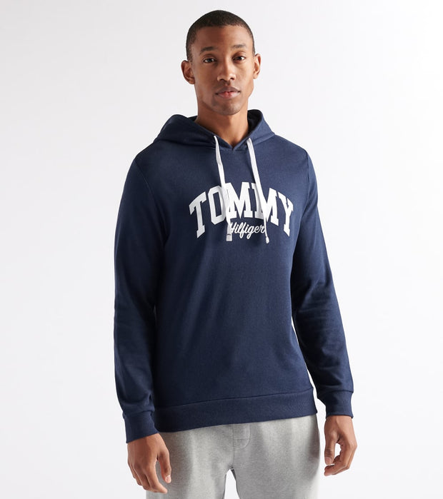 Tommy  Tommy Pullover Hoodie  Navy - 09T3619-410 | Jimmy Jazz