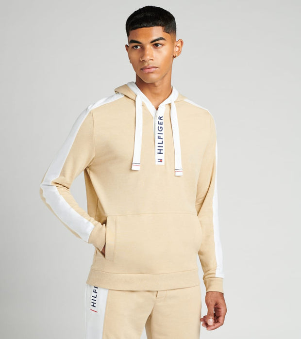 Tommy  Fashion French Terry Hoodie  Beige - 09T3644-102 | Jimmy Jazz