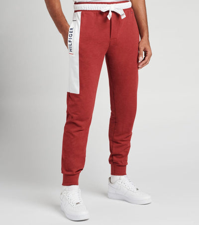 Tommy  Fashion French Terry Pants  Red - 09T3645-610 | Jimmy Jazz