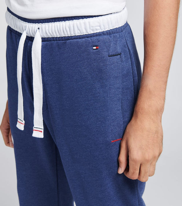 Tommy  Fashion French Terry Pants  Blue - 09T3645-973 | Jimmy Jazz