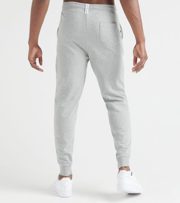 Tommy  Brushed Back Fleece Joggers  Grey - 09T3722-004 | Jimmy Jazz