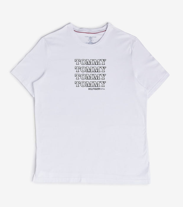 Tommy  Modern Essentials  Crew Neck  White - 09T3744-100 | Jimmy Jazz