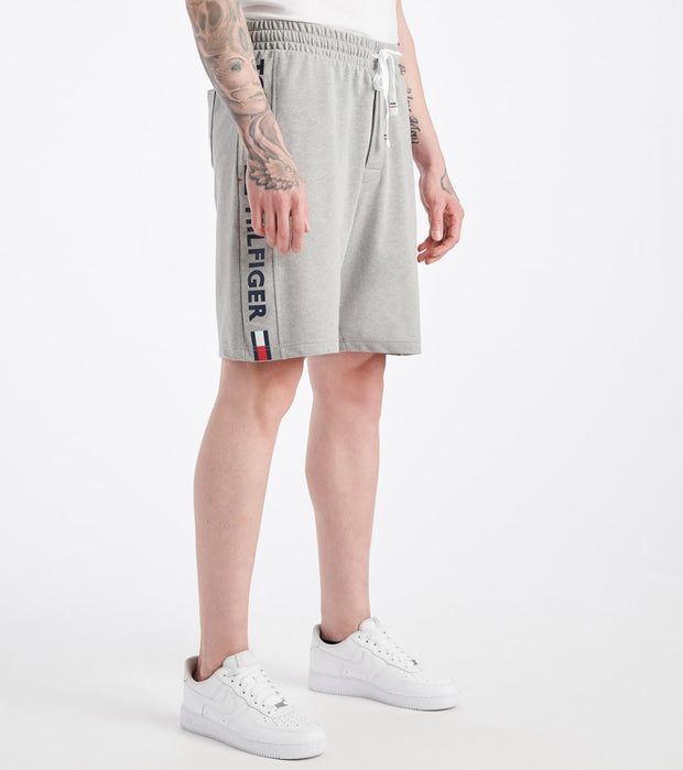 Tommy  Tommy Name Logo Shorts  Grey - 09T3752-004 | Jimmy Jazz