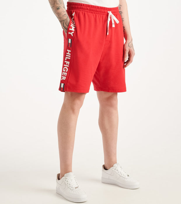 Tommy  Tommy Name Logo Shorts  Red - 09T3752-608 | Jimmy Jazz
