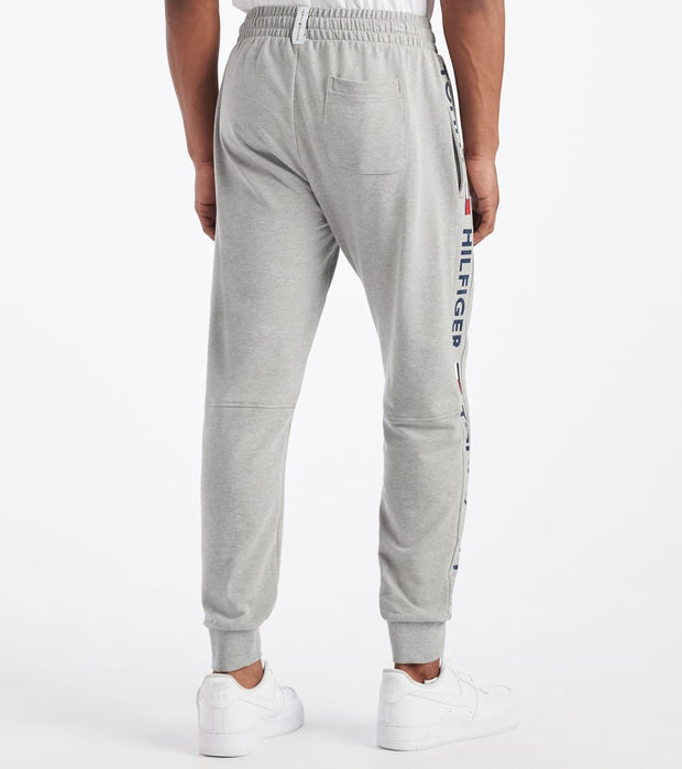 Tommy  Tommy Name Logo Pant  Grey - 09T3753-004 | Jimmy Jazz