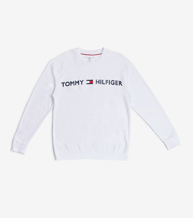 Tommy  Modern Essentials Long Sleeve Tee  White - 09T3754-100 | Jimmy Jazz