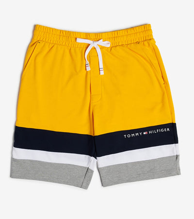 Tommy  Tommy Block Stripe Shorts  Yellow - 09T3768-753 | Jimmy Jazz