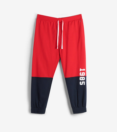 Tommy  Hilfiger Color Block FT Joggers  Red - 09T3796-608 | Jimmy Jazz