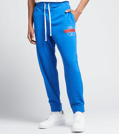 Tommy  Elastic Waist Jogger Pants  Blue - 09T3997-433 | Jimmy Jazz