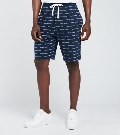 Tommy  Elastic Waist Shorts  Navy - 09T4118-410 | Jimmy Jazz