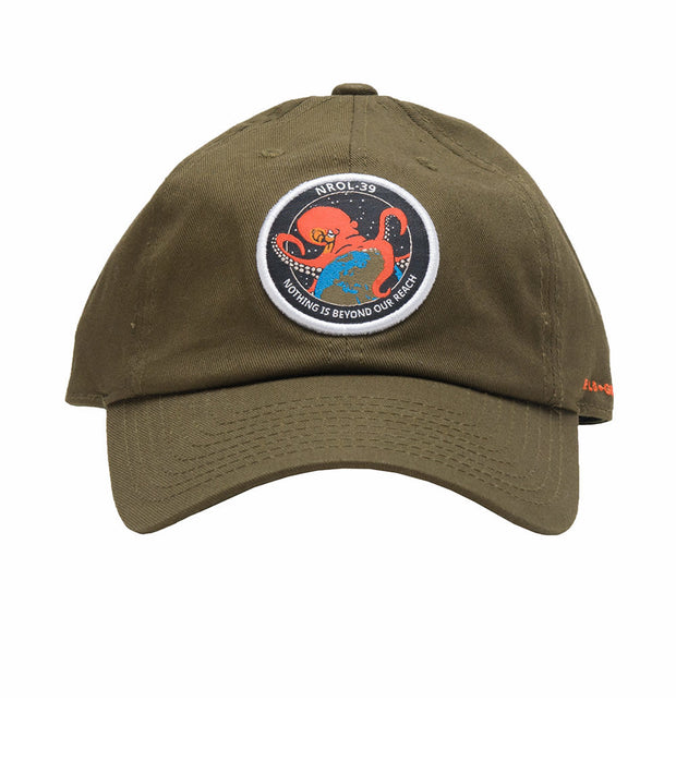 Field Grade  Octopus Dad Hat  Green - 1000506 | Jimmy Jazz