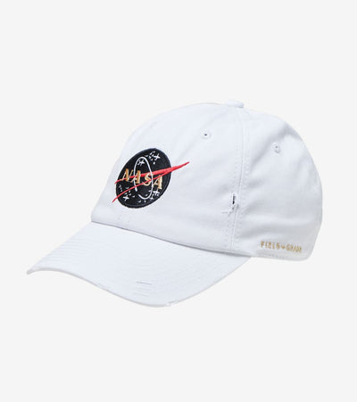 Field Grade  Skylab NASA 50th Anniversary Dad Hat  White - 1000658 | Jimmy Jazz