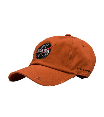 Field Grade  NASA 30th Anniversary Dad Hat  Orange - 1000968 | Jimmy Jazz