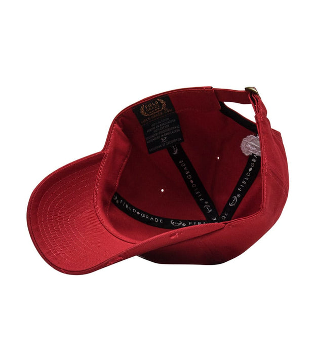 Field Grade  Cereal Killers Dad Hat  Red - 1001356 | Jimmy Jazz