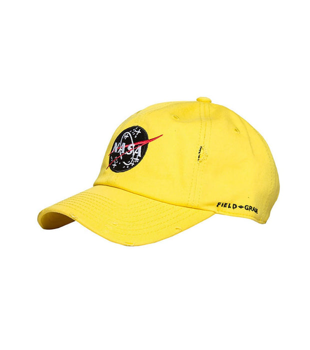 Field Grade  Skylab NASA Dad Hat  Yellow - 1001502 | Jimmy Jazz