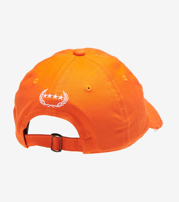 Field Grade  Kings Distressed Dad Hat  Orange - 1001683 | Jimmy Jazz