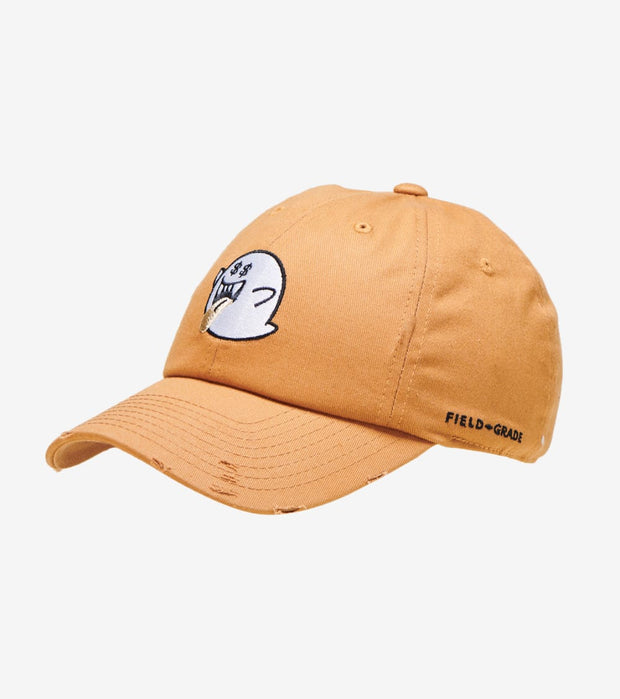 Field Grade  Ghost Money Distressed Dad hat  Beige - 1001855 | Jimmy Jazz